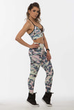 Legging SuperSarada Ice Candy Army 20053 - SuperSarada Moda Fitness
