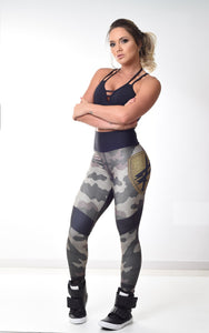 Legging SuperSarada US Military 20064 - SuperSarada Moda Fitness - Roupas para Academia