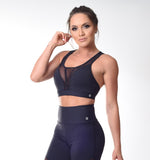 Top SuperSarada Sweet Transparencia 2059 - SuperSarada Moda Fitness - Roupas para Academia