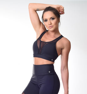 Top SuperSarada Sweet Transparencia 2059 - SuperSarada - Moda Fitness