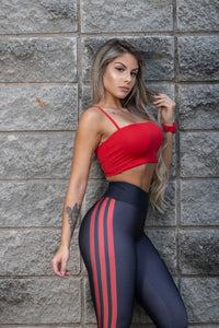 Top SuperSarada England 2070 - SuperSarada Moda Fitness - Roupas para Academia