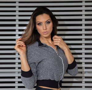 Casaco SuperSarada Lurex 3811 - SuperSarada - Moda Fitness