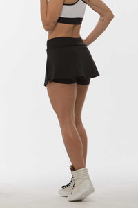 Shorts Saia SuperSarada Fenda Monday 7003-7 - SuperSarada Moda Fitness - Roupas para Academia