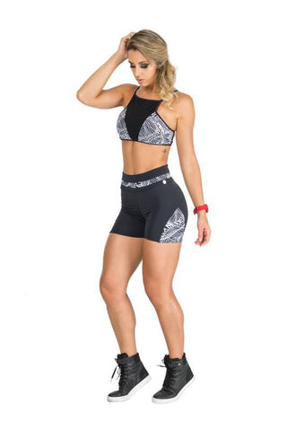 Shorts SuperSarada Hawai 7019 - SuperSarada Moda Fitness