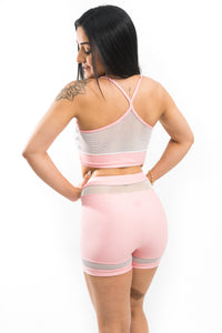 Shorts SuperSarada Sunset 7022 - SuperSarada Moda Fitness - Roupas para Academia
