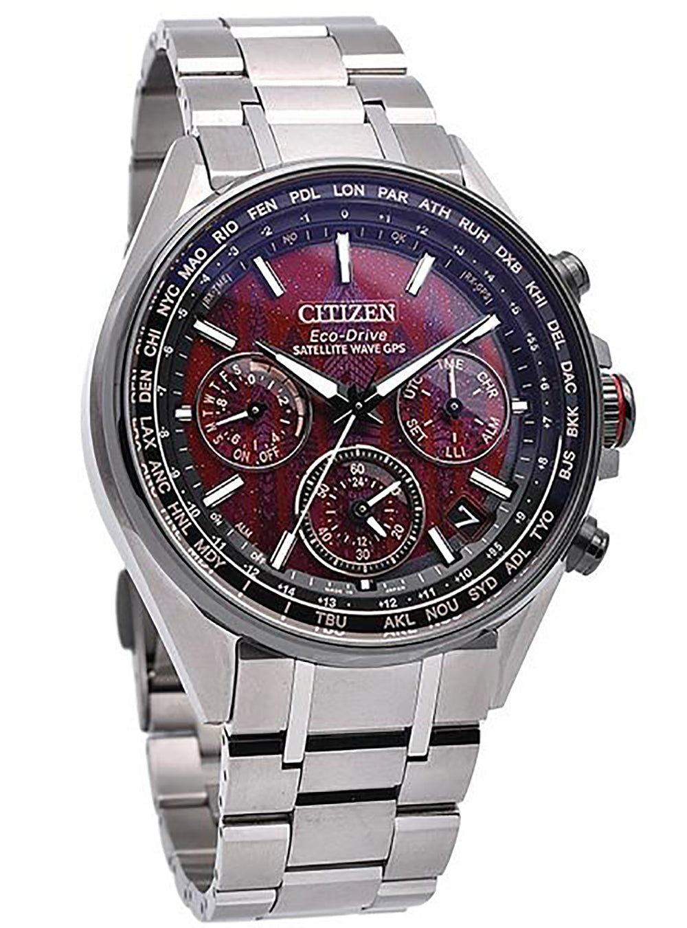CITIZEN ATTESA SATELLITE WAVE GPS JOUNETSU COLLECTION CC4005-71Z LIMITED 1100 MADE IN JAPAN JDM