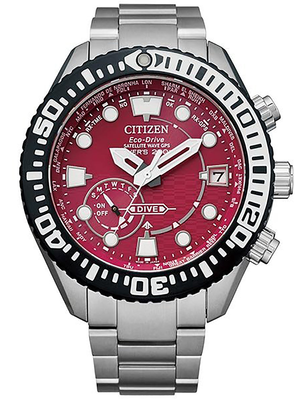 CITIZEN PROMASTER SATELLITE WAVE GPS JOUNETSU COLLECTION CC5005-68Z LIMITED 800 MADE IN JAPAN JDM
