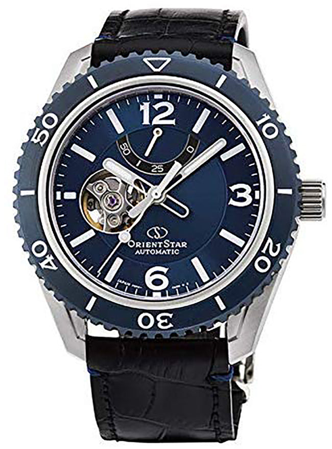 ORIENT STAR SPORTS COLLECTION SEMI SKELETON RK-AT0108L