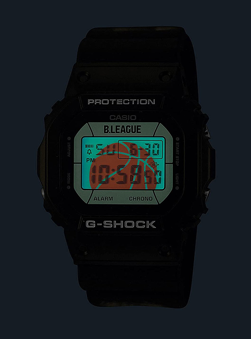 CASIO G-SHOCK B.LEAGUE × G-SHOCK COLLABORATION MODEL DW-5600BLG21-1JR LIMITED EDITION JDM