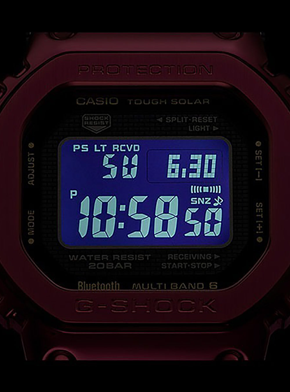 CASIO G-SHOCK GMW-B5000RD-4JF MADE IN JAPAN JDM