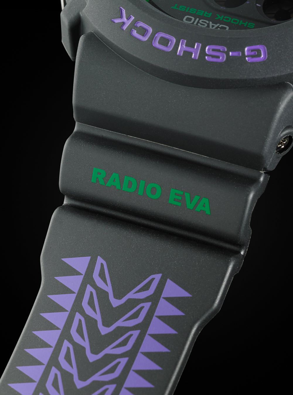 EVANGELION × G-SHOCK × RADIO EVA DW-6900 feat.RADIO EVA LIMITED EDITION
