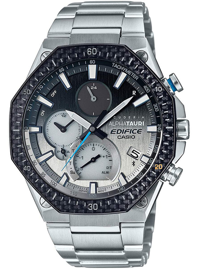 CASIO EDIFICE SCUDERIA ALPHATAURI LIMITED EDITION EQB-1100AT-2AJR JAPAN MOV'T JDM