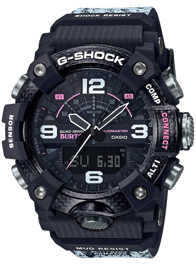 CASIO G-SHOCK MUDMASTER BURTON Collaboration Model GG-B100BTN-1AJR