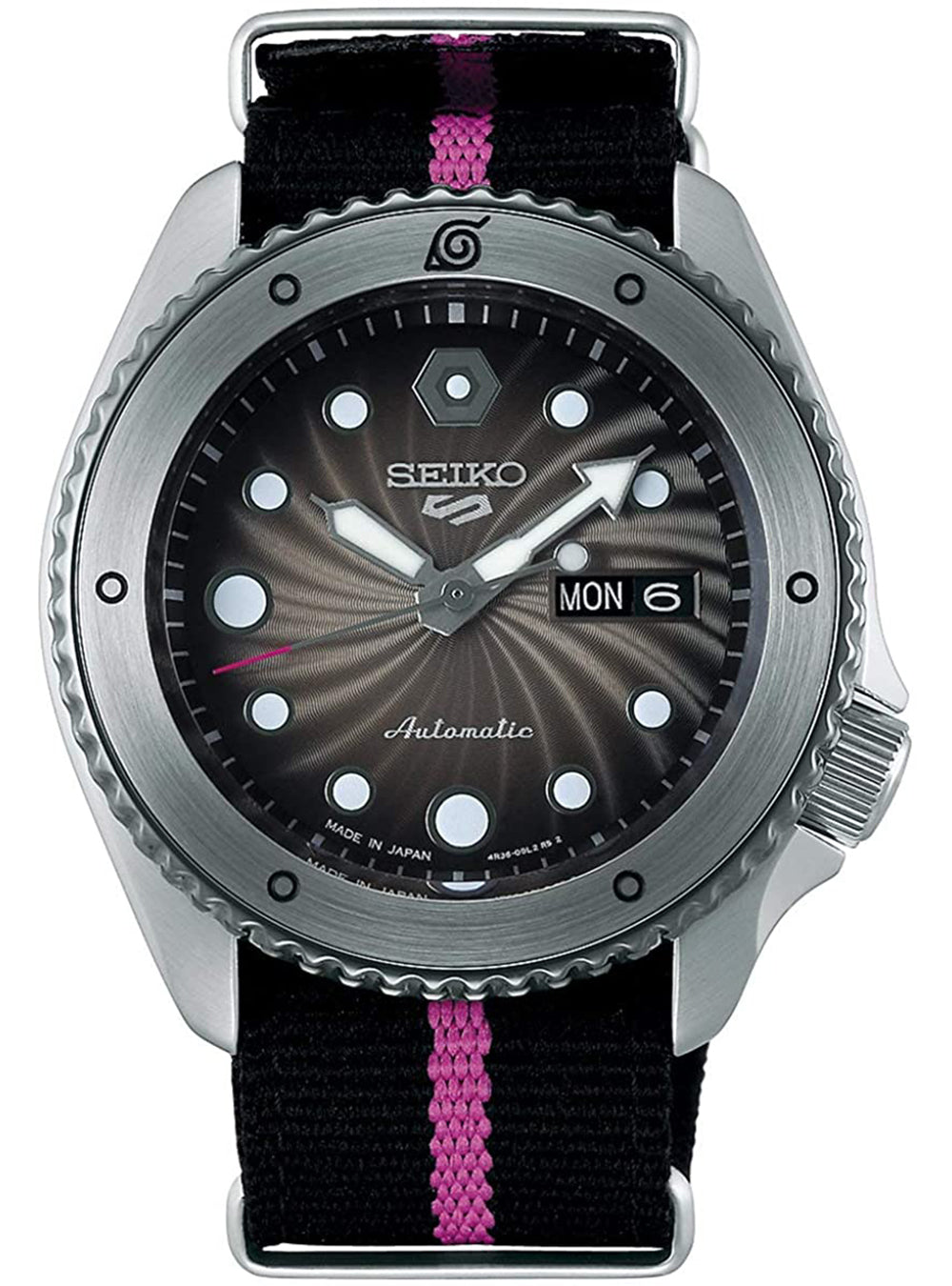 SEIKO 5 SPORTS NARUTO & BORUTO LIMITED EDITION BORUTO UZUMAKI MODEL SBSA087 MADE IN JAPAN JDM