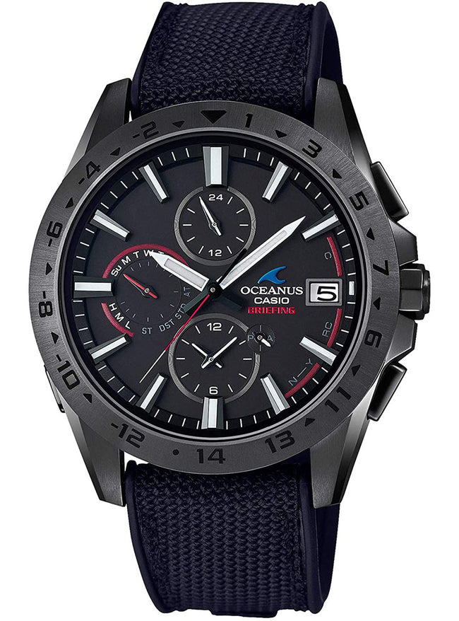 CASIO OCEANUS BRIEFING COLLABORATION LIMITED MODEL OCW-T3000BRE-1AJR