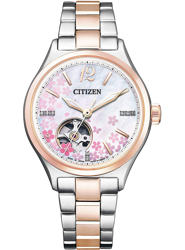 CITIZEN COLLECTION SAKURA LIMITED MODEL PC1014-51D MADE IN JAPAN JDM