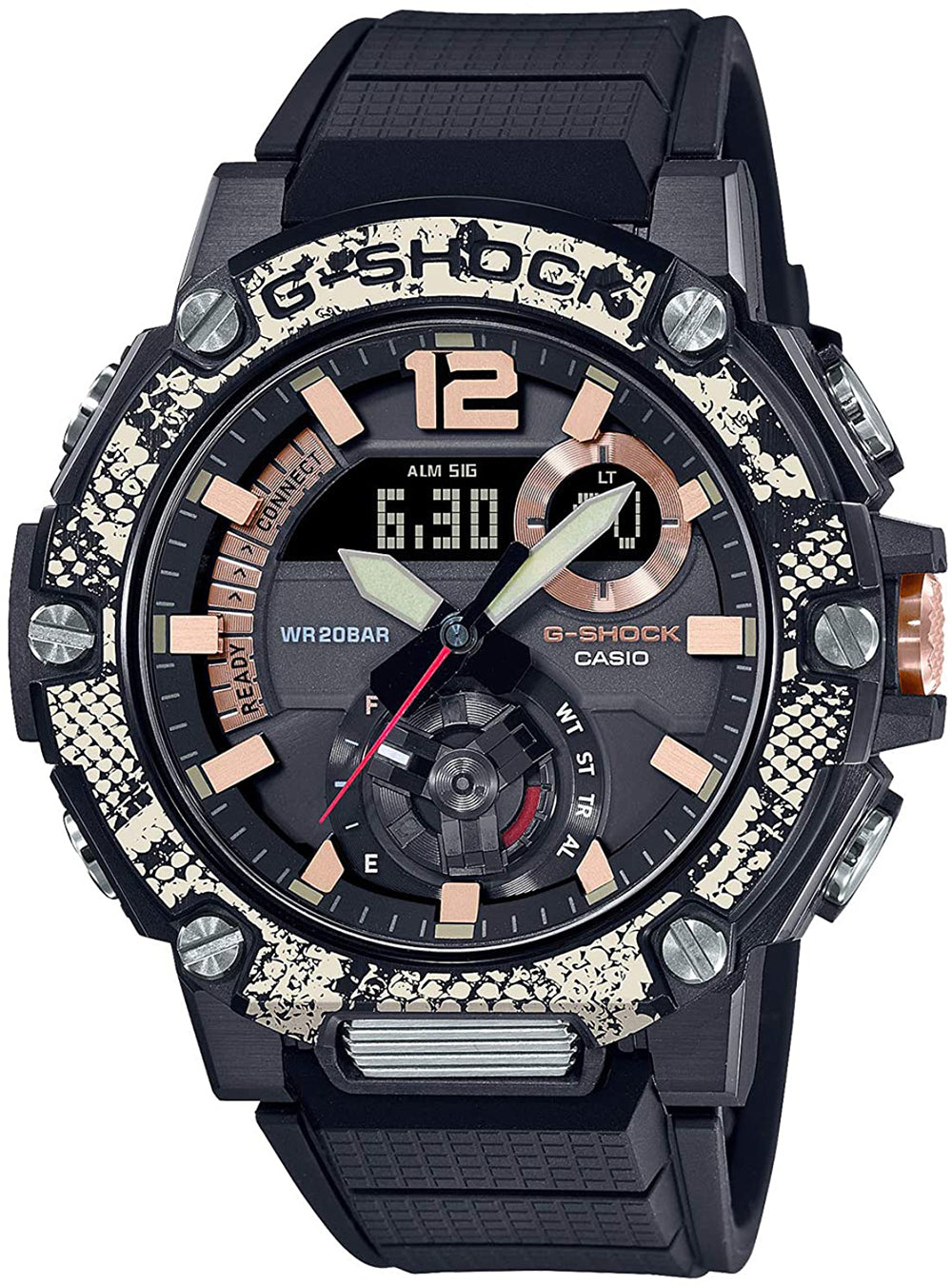 CASIO G-SHOCK G-STEEL LOVE THE SEA AND THE EARTH WILDLIFE PROMISING COLLABORATION MODEL GST-B300WLP-1AJR JDM