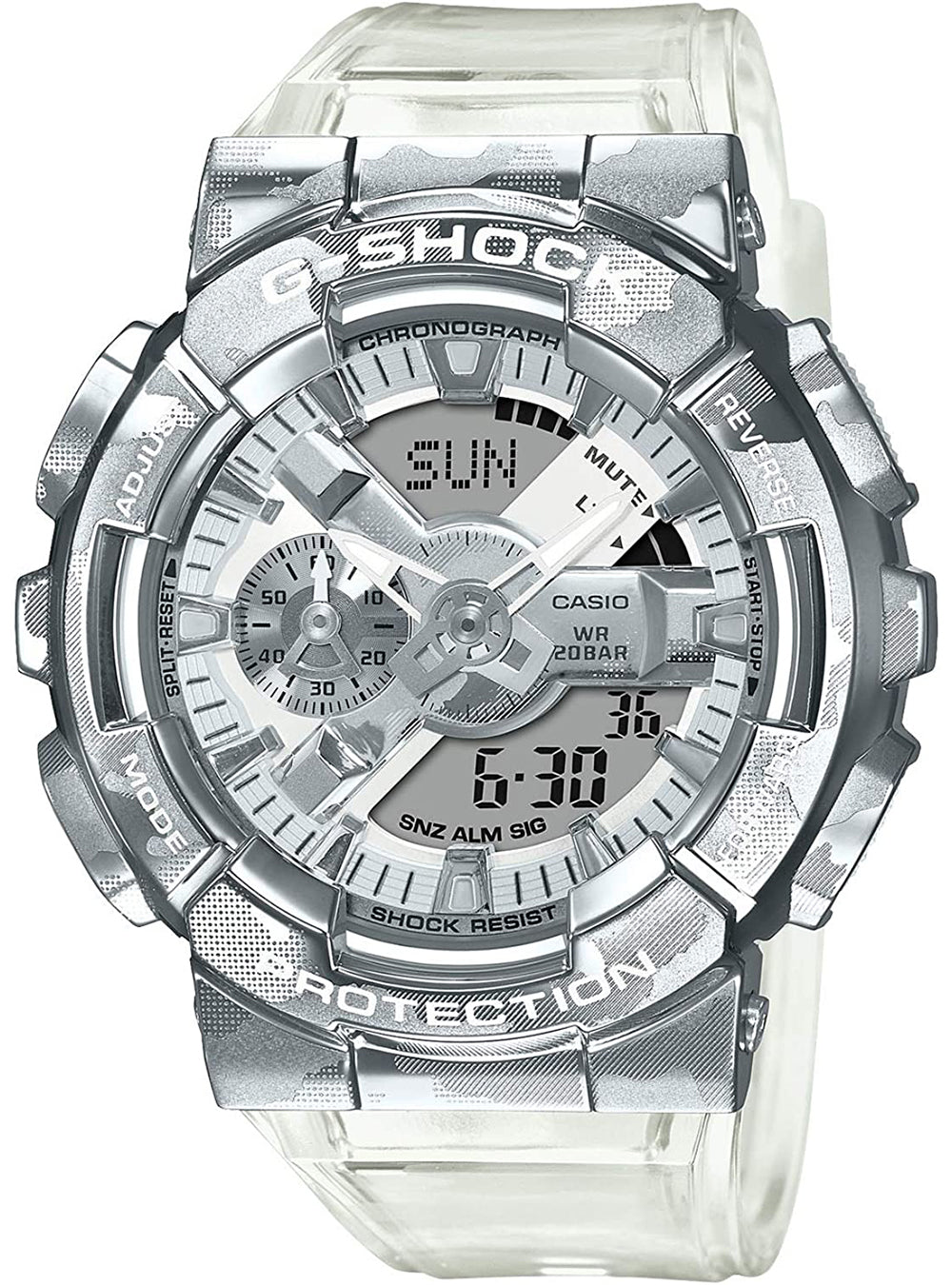 CASIO G-SHOCK Skeleton Camouflage Series GM-110SCM-1AJF JDM