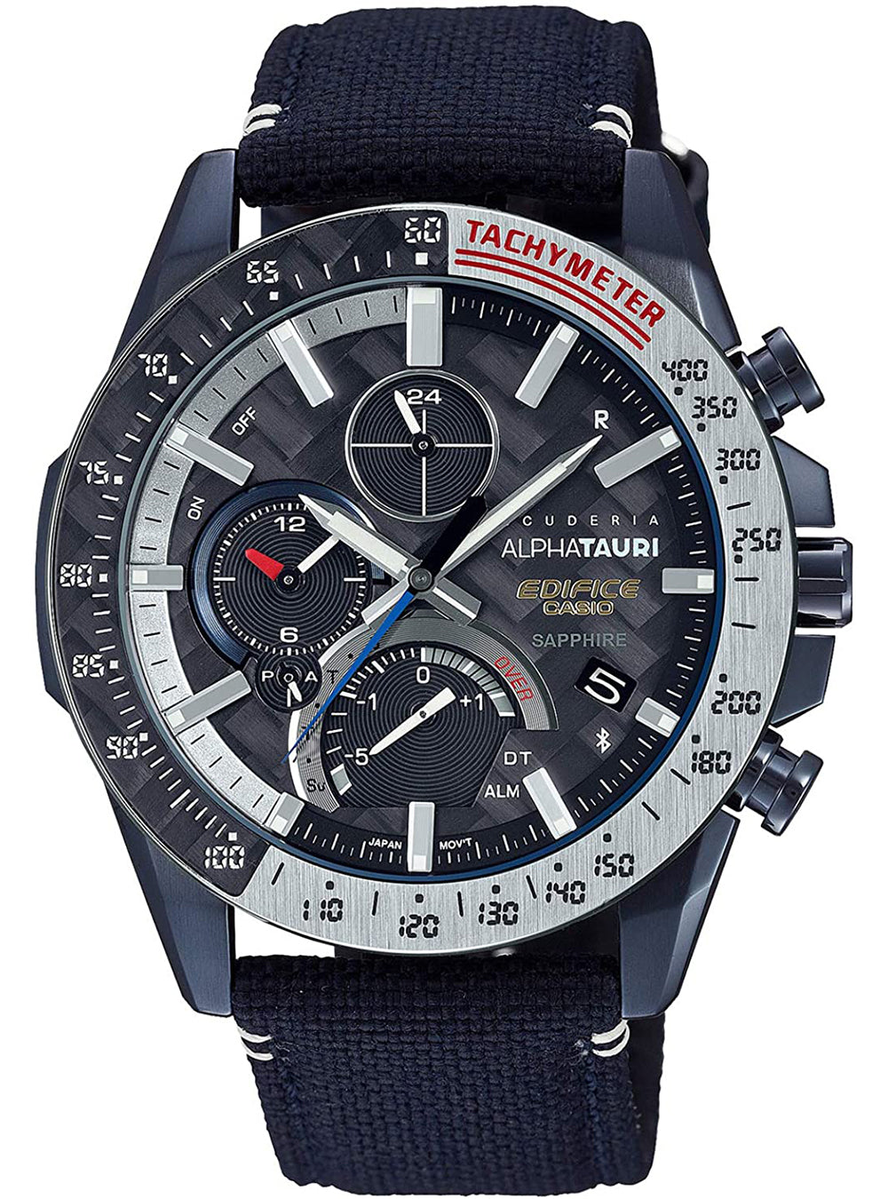 CASIO EDIFICE SCUDERIA ALPHATAURI LIMITED EDITION EQB-1000AT-1AJR JDM