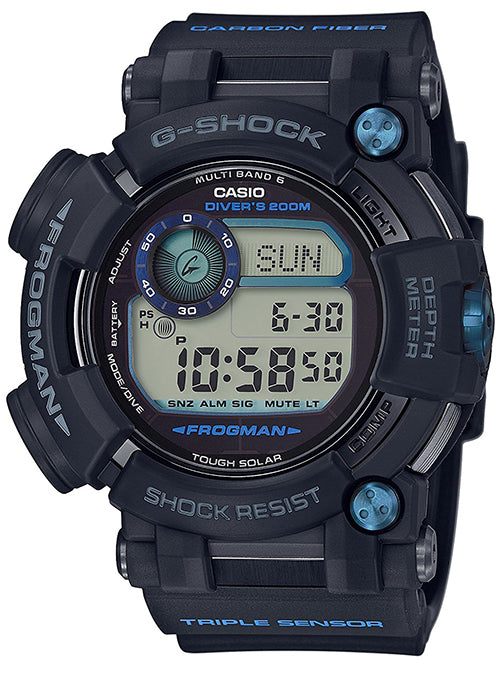 CASIO G-SHOCK MASTER OF G FROGMAN DEPTH SENSOR GWF-D1000B-1JF