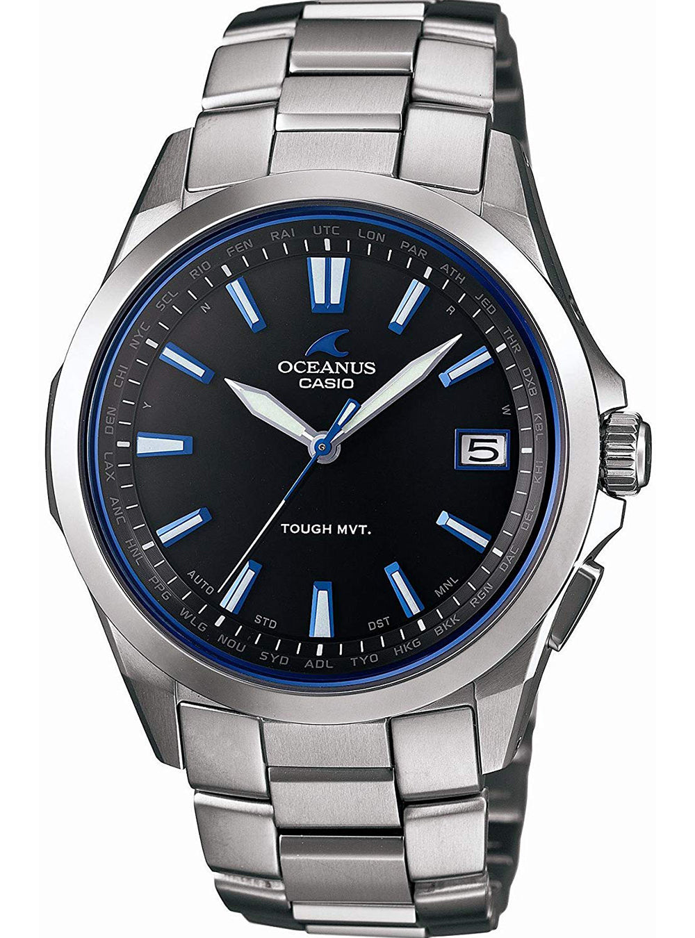 CASIO OCEANUS OCW-S100-1AJF SOLAR RADIO WAVE MADE IN JAPAN JDM