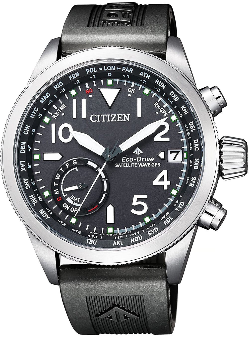 CITIZEN PROMASTER GPS SATELLITE WAVE CC-3060-10E JAPAN MOV'T JDM