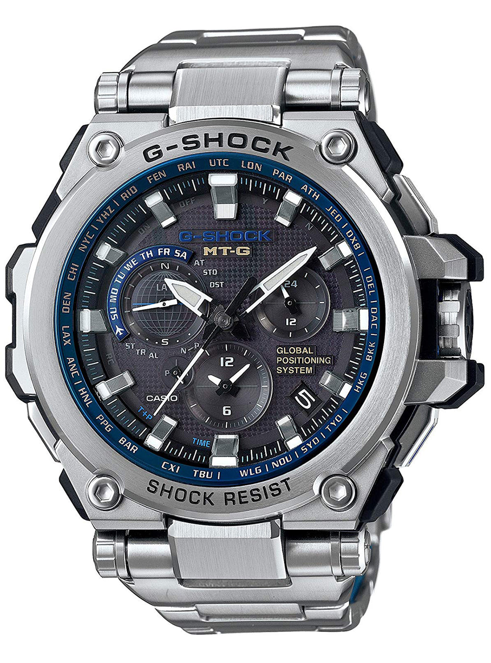 Casio G-Shock MTG-G1000D-1A2JF GPS Hybrid Solar Radio MADE IN JAPAN JDM (Japanese Domestic Market)