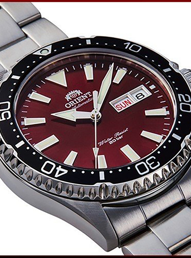 ORIENT KAMASU SPORTS DIVER STYLE RN-AA0003R MADE IN JAPAN JDM
