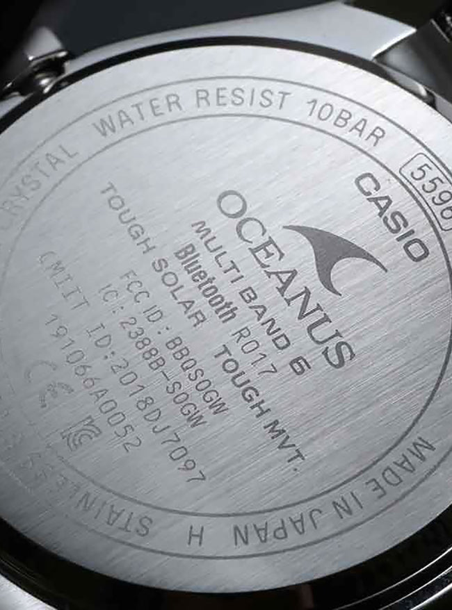 CASIO OCEANUS OCW-T200S-1AJF MADE IN JAPAN JDM