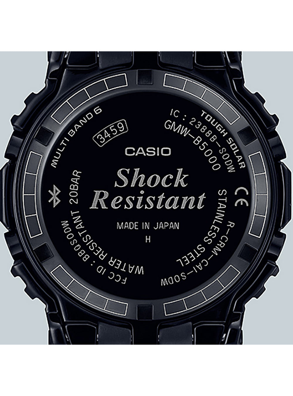 CASIO G-SHOCK GMW-B5000CS-1JR MADE IN JAPAN JDM