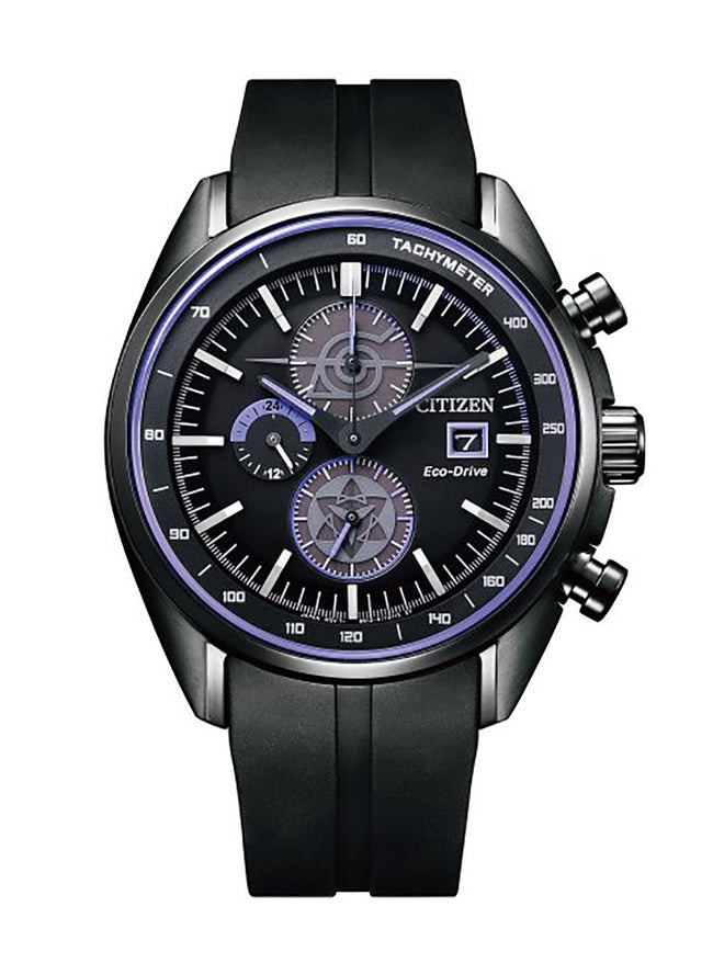 CITIZEN COLLECTION×NARUTO SASUKE MODEL ECO-DRIVE CA0597-16E LIMITED EDITION JDM