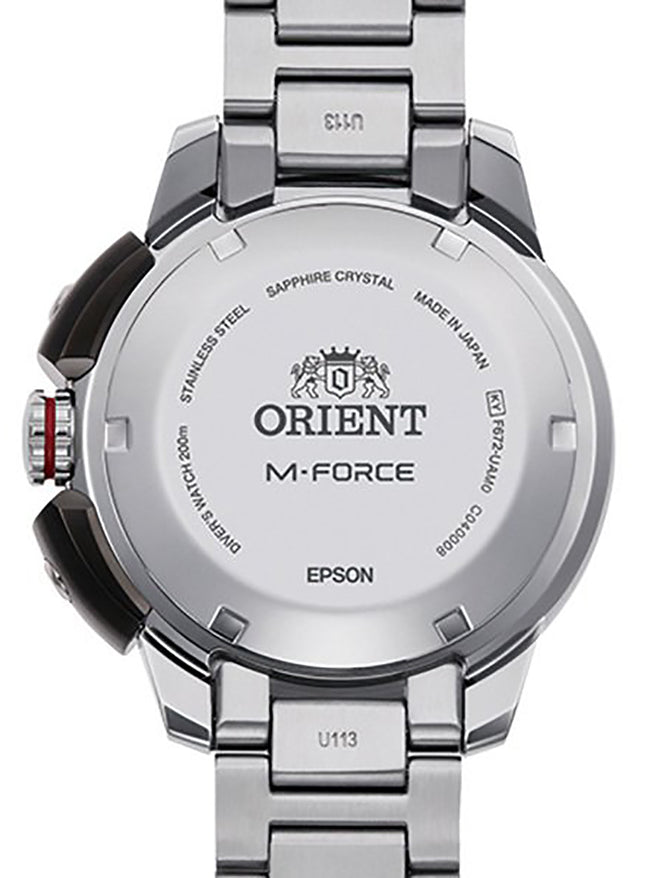 ORIENT M-FORCE SPORTS 70TH ANNIVERSARY LIMITED MODEL RN-AC0L02R MADE IN JAPAN JDM