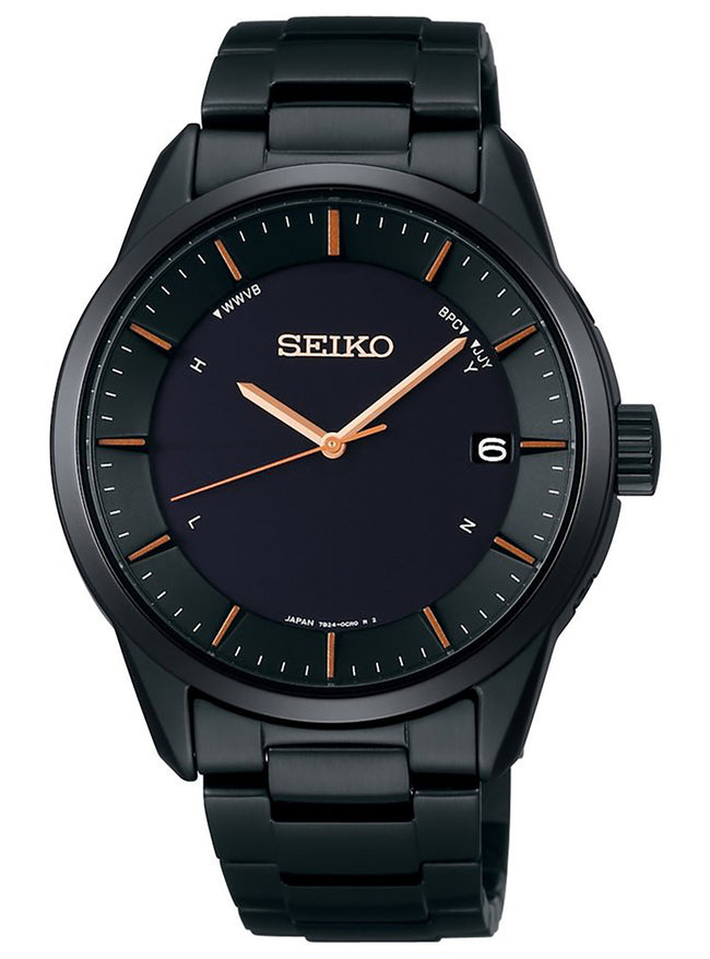 Seiko Selection SBTM277 Titanium Solar Radio Wave