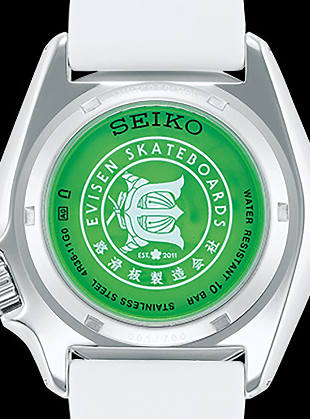SEIKO 5 SPORTS × EVISEN SKATEBOARDS SBSA105 SEIKO BOUTIQUE SPECIAL EDITION MADE IN JAPAN JDM