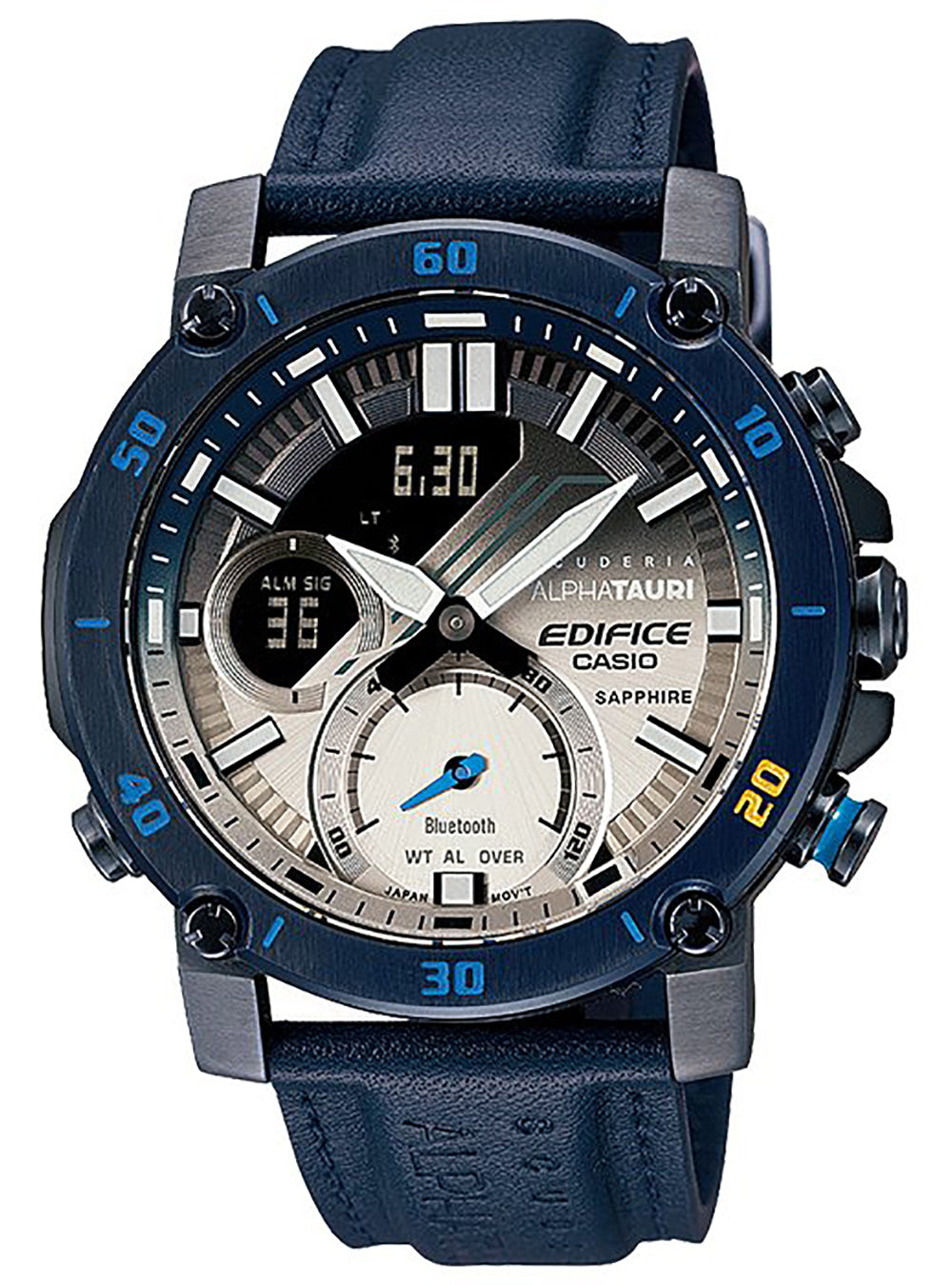 CASIO EDIFICE Scuderia AlphaTauri Limited Edition ECB-20AT-2AJR JAPAN MOV'T JDM