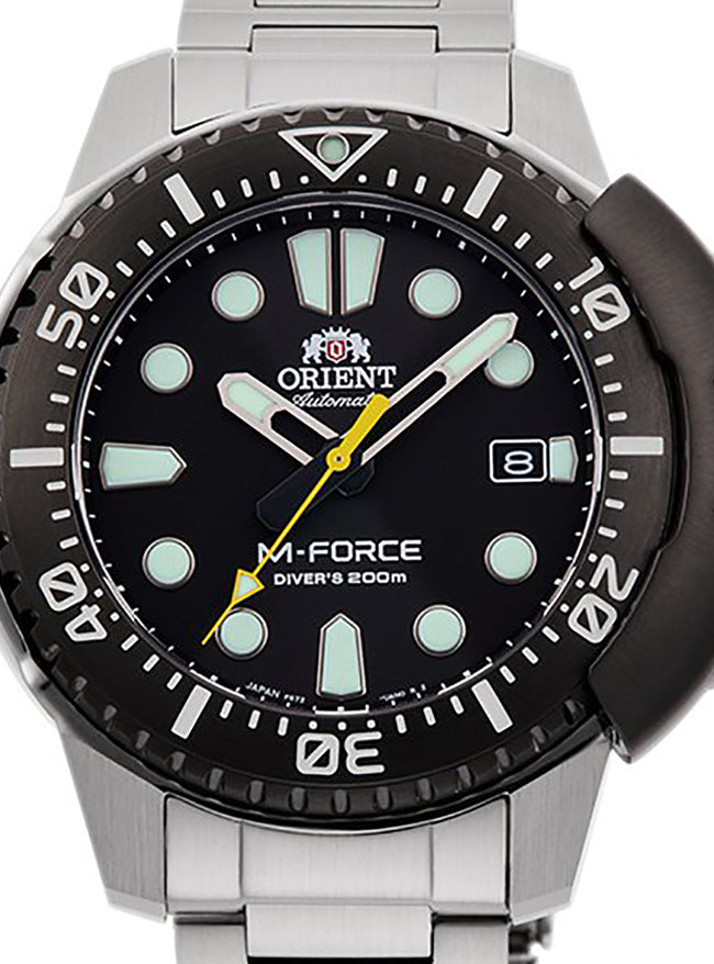 ORIENT M-FORCE SPORTS 70TH ANNIVERSARY LIMITED MODEL RN-AC0L01B MADE IN JAPAN JDM