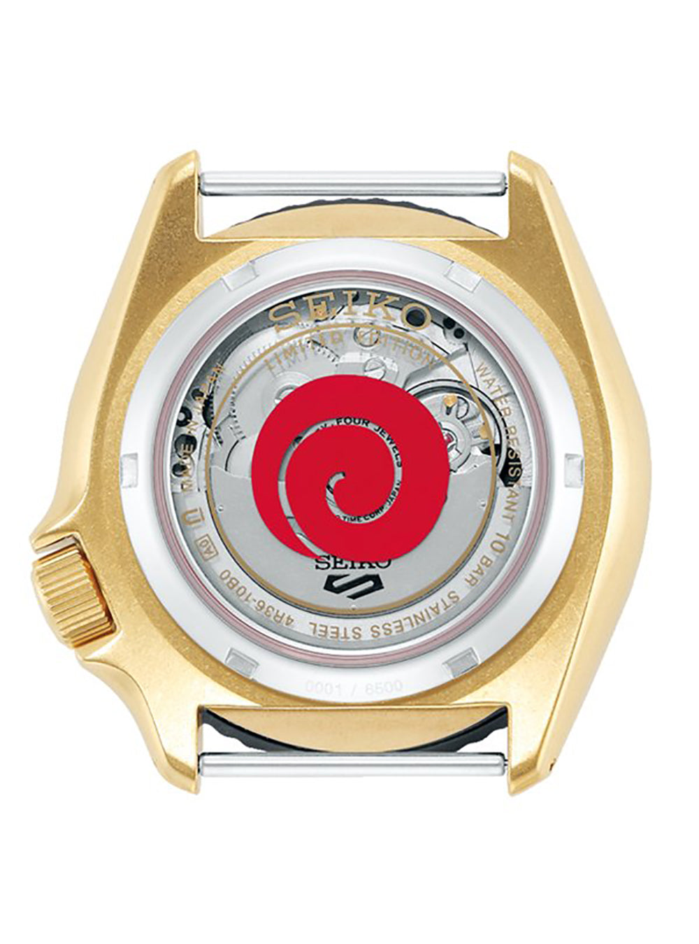 SEIKO 5 SPORTS NARUTO & BORUTO LIMITED EDITION NARUTO UZUMAKI MODEL SBSA092 MADE IN JAPAN JDM