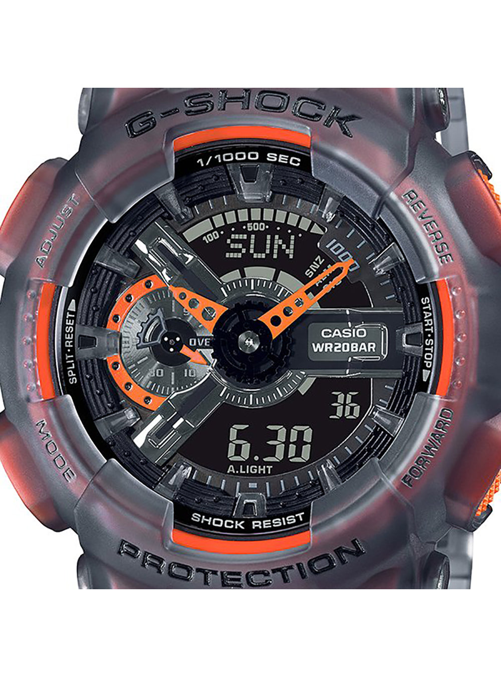 CASIO G-SHOCK Color Skelton Series GA-110LS-1AJF JDM