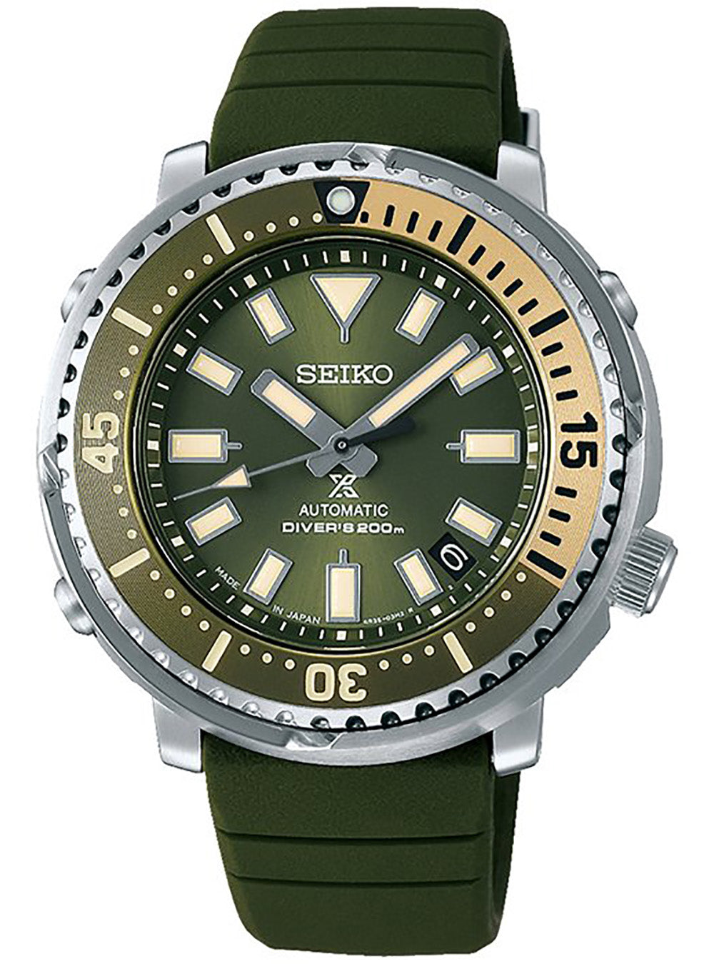 SEIKO PROSPEX DIVER SCUBA STREET SAFARI SBDY075 MENS LIMITED EDITION MADE IN JAPAN JDM