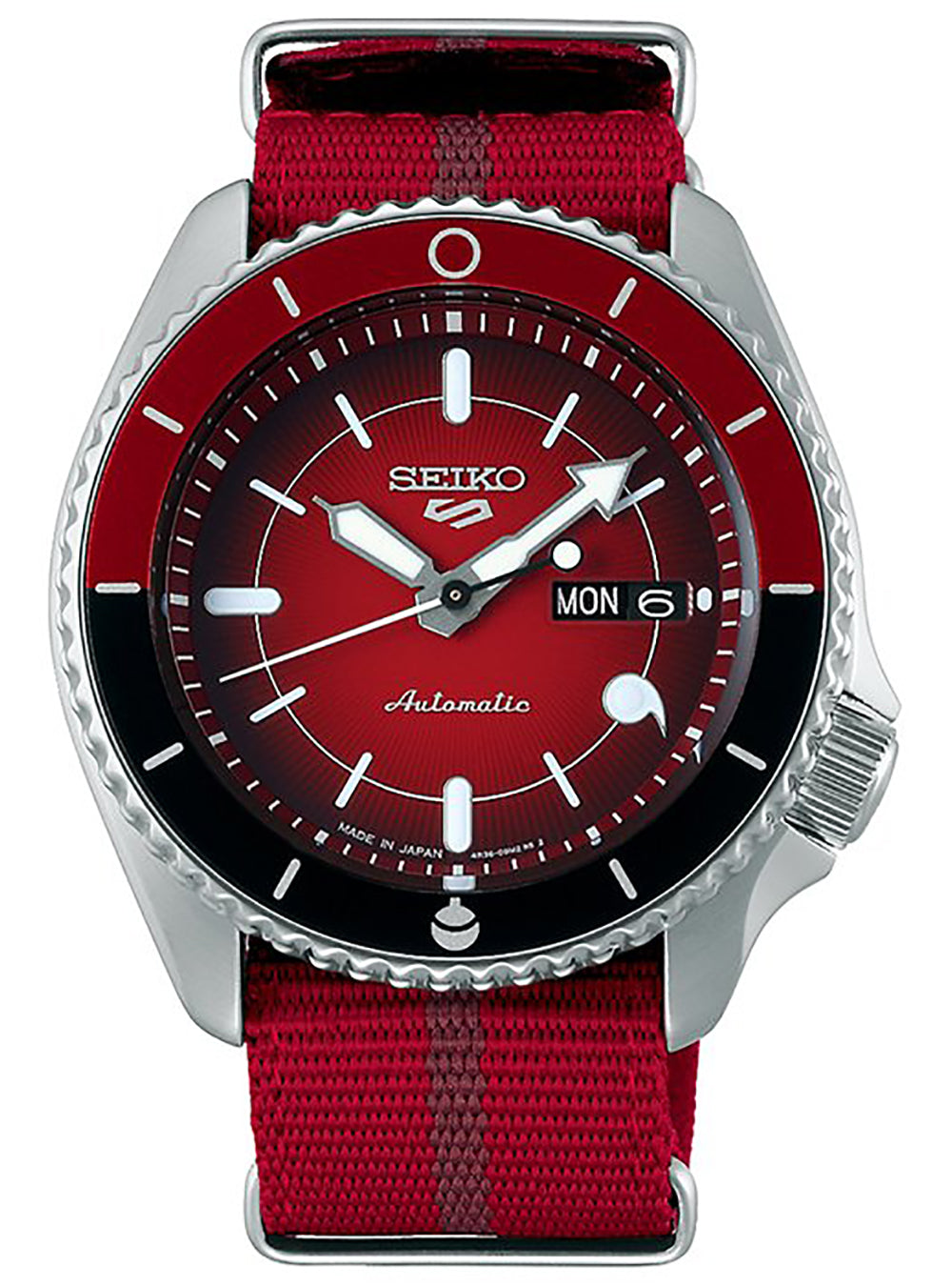 SEIKO 5 SPORTS NARUTO & BORUTO LIMITED EDITION SARADA UCHIHA MODEL SBSA089 MADE IN JAPAN JDM