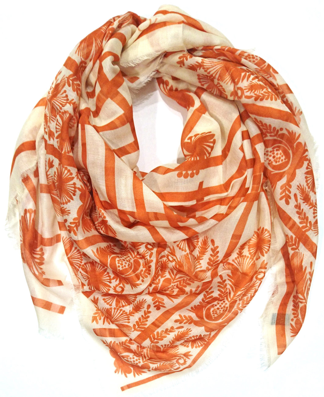 Carrot Vanilla Fudge Scarf