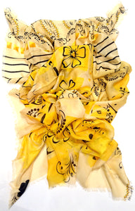 Lemon Scone Scarf