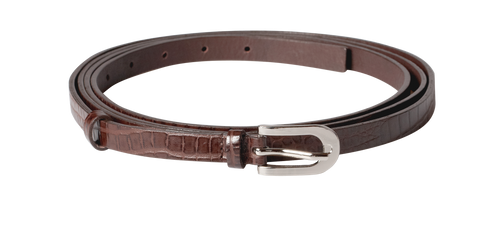 Brown Long Skinny Belt