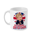 Boris Johnson - Go to work, don't go to work mug