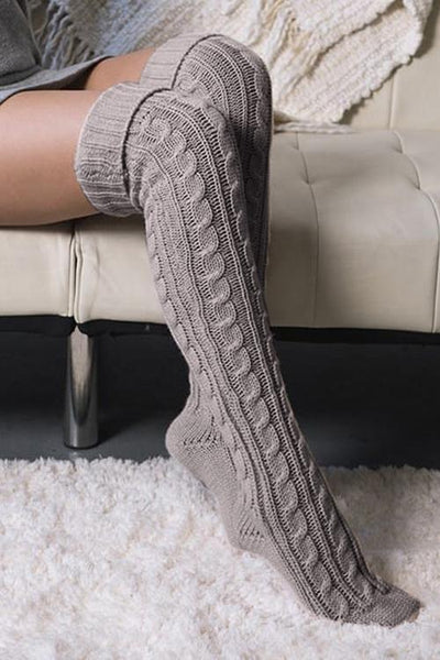 Knee High Boot Sock