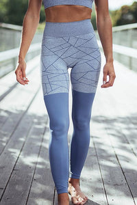 Geometry Patchwork Leggings