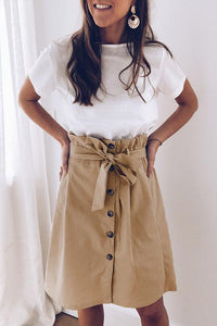 Button Knot Skirts