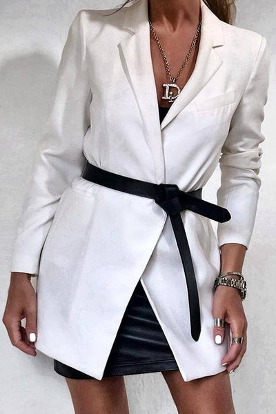 Leather Tied Belt