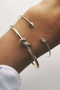 Knot Arrow Bracelet