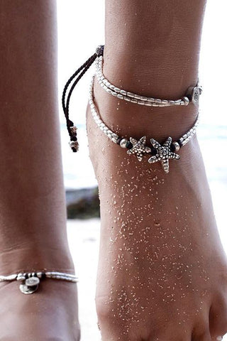 Starfish Ankle chains
